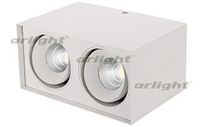 Светильник SP-CUBUS-S100x200WH-2x11W Warm White 40deg