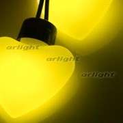 Гирлянда ARL-HEART-5000-20LED Yellow (220V, 5W)  (1шт.)